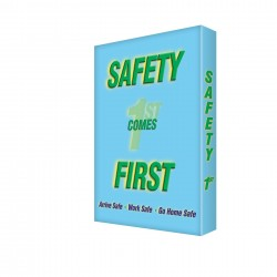 Accuform Signs - EDP202 - Sign, 24x18 In, Safety Comes First