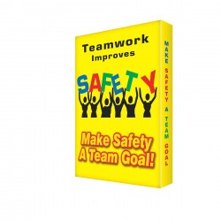 Accuform Signs - EDP214 - Sign, 24x18 In, Teamwork Improves Safety