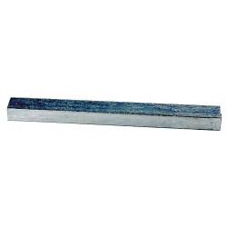 American Garage Door - ZCK-3 - Key, 1/4 In, Steel, PK8