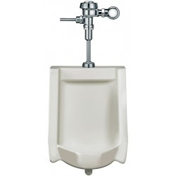 Sloan Valve - WEUS1002.1001 - Washdown Wall Hung Urinal, 0.25 Gallons per Flush, 27H x 17W, White