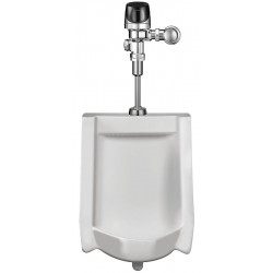Sloan Valve - WEUS1002.1401 - Washdown Wall Hung Urinal, 0.25 Gallons per Flush, 27H x 17W, White
