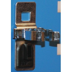 Kennedy - 99833 - Steel Single Spring Toolboard Clip, Silver