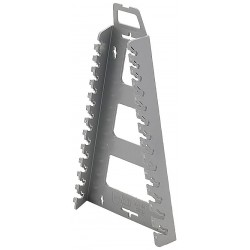 Hansen Global - 5302 - Gray Metric Wrench Rack, Polypropylene, 12-1/4 Length, 6-1/2 Width