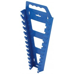 Hansen Global - 5300 - Blue Universal Wrench Rack, Polypropylene, 12-1/4 Length, 6-1/2 Width