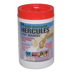 Hercules Chemical - 45333 - 70 10 x 12 Hand Cleaning Wipes, 1 EA