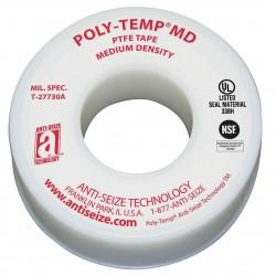 Anti-Seize - 16025 - 1/4W PTFE Thread Sealant Tape, White, 520 Length