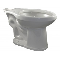Gerber - 21-128 - Toilet Bowl, Floor Mounting Style, Elongated, 1.10/1.60 Gallons per Flush