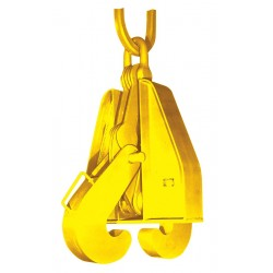 The Caldwell Group - F-5 - Beam Grab, 15-3/4, 10, 000 lb., Flange Width 4 to 10, Flange Thickness 1/4 to 1, Headroom 22-3/4