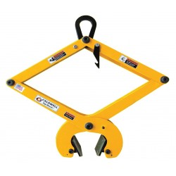 The Caldwell Group - 172-1/2 - Concrete Grab, Polyurethane, 1100 lb., Load Width 1-3/16 to 5-1/2, Headroom 13-1/2 to 29-1/2