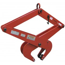 The Caldwell Group - 173-1 - Concrete Grab, Steel, 2200 lb., Load Width 2-3/8 to 7-3/32, Headroom 16-11/16 to 29-1/2