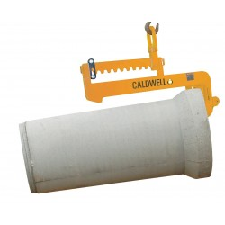 The Caldwell Group - CPL-4.5 - C-Hook Leveling Pipe Lifter, 54, 9000 lb., Throat Height 8, Min. Pipe Inside Diameter 10