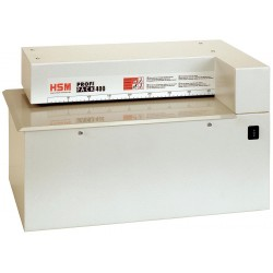 HSM of America - PROFI PACK 400 - Packaging Cardboard Shredder, Web Cut Style