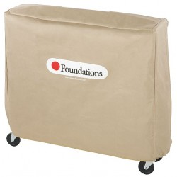 Foundations - 4032156 - Nylon Compact Size Crib Cover , Tan; PK1