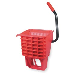 Rubbermaid - FG612788RED - Side Press Mop Wringer, Red, Polypropylene, 12 to 32 oz. Mop Capacity