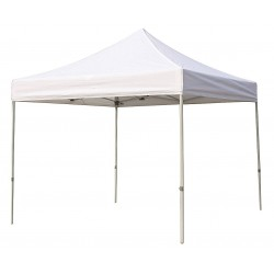 Other - 5NY99 - White Instant Canopy, 10 ft. Length, 10 ft. Width, 7 ft. to 8 ft. Center Height