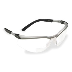3M - 11376-00000-20 - Eyewear Safety Reading Box Aosafety 2.5 Diopter Silver Frame Clear Lens Ansi Z87.1-2003 High Impact Csa Z94.3 Aearo Co., Ea