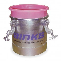 Binks - PT-78-K10 - Tank Liner, 2.8 gal. Capacity, For Use With Pressure Feed Tanks