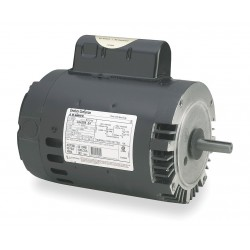 A.O. Smith - B122 - 1 HP Pool and Spa Pump Motor, Permanent Split Capacitor, 3450 Nameplate RPM, 115/230 Voltage, 56C Fr
