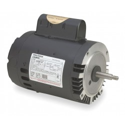 A.O. Smith - B128 - 1 HP Pool and Spa Pump Motor, Permanent Split Capacitor, 3450 Nameplate RPM, 115/230 Voltage, 56J Fr