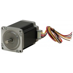 Autonics - A2K-M243 - 2 Phase, NEMA 17 / 42mm Frame Stepper Motor, Solid Motor Shaft Design, 1.2 Amps Per Phase