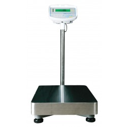 Adam Equipment - GFK 165AH - Adam Equipment GFK 165AH Industrial Scale, 165B/75kg Capacity and 0.01Lb/5G Readability, 230V