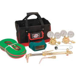 Harris - 4403235 - Harris Model 43425-510 Pipeliner Classic Deluxe Heavy Duty Cutting, Welding Outfit With Tool Bag, CGA-510, ( Each )