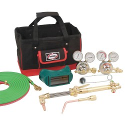 Harris - 4403224 - Harris Model 8525-510 Steelworker Classic Deluxe Cutting, Welding Outfit With Tool Bag, CGA-510, ( Each )