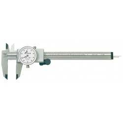 "Brown & Sharpe Precision - 75.115811 - 0-6"" Range Stainless Steel Inch Dial Caliper with 0.001"" Graduations"