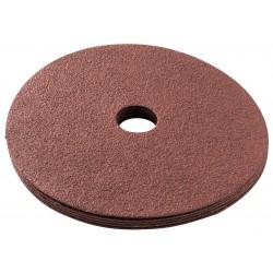 "Makita - 742109-9 - 5"" Fiber Disc, Aluminum Oxide, 80 Grit, 1/2"", Coated, GV5010, PK5"