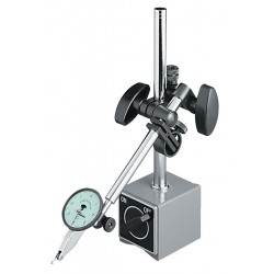 Mahr Federal - 1492B-10 - Indicator Stand, 165 Magnetic Pull (Lb.), 1.9W x 2.4D x 2.2H Base Size (In.), 0.394 Rod Dia. (In.),