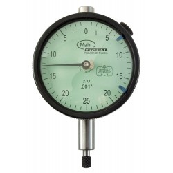 Mahr Federal - 2015791 - Balanced Reading Dial Indicator, AGD 2, 2.250 Dial Size, 0 to 0.125 Range