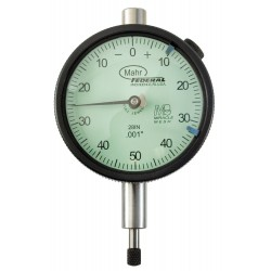 Mahr Federal - 2015792 - Balanced Reading Dial Indicator, AGD 2, 2.250 Dial Size, 0 to 0.250 Range