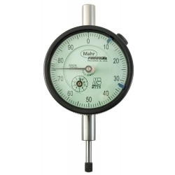 Mahr Federal - 2014699 - Continuous Reading Dial Indicator, AGD 2, 2.250 Dial Size, 0 to 0.500 Range