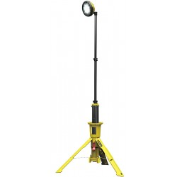 Pelican - 9440-Y - 1.2 to 2.4W LED Tripod Remote Area Lighting System, Yellow, 2400/1200 Lumens