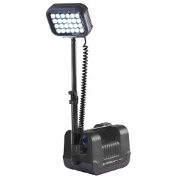 Pelican - 9430SL-B - 24W LED Foldable Remote Area Lighting System, Black, 2000/1000 Lumens