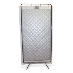 Sound Seal - NS-117PKD - Acoustic Screen, Modular, Gray, 4 x 8 ft.