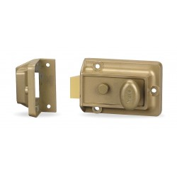 Yale / Assa Abloy - 80 - Brass Rim Lock, Latchlock, For Door Thickness 1-3/8 to 2-1/4