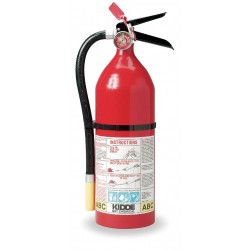 Kidde Fire and Safety - 46611220 - Dry Chemical Fire Extinguisher with 5 lb. Capacity and 19 to 21 sec. Discharge Time