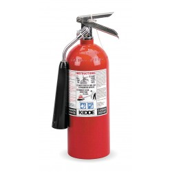 Kidde Fire and Safety - PRO5CDM - Carbon Dioxide Fire Extinguisher with 5 lb. Capacity and 7 to 9 sec. Discharge Time