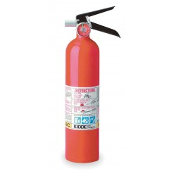 Kidde Fire and Safety - 46622720 - Dry Chemical Fire Extinguisher with 2.5 lb. Capacity and 8 to 12 sec. Discharge Time