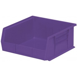 "Akro-Mils / Myers Industries - 30250PURPL - Hang and Stack Bin, Purple, 14-3/4"" Outside Length, 16-1/2"" Outside Width, 7"" Outside Height"