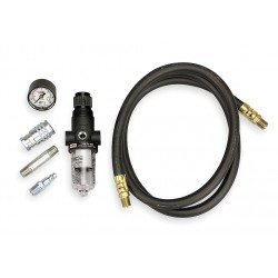 Ingersoll-Rand - 66073-1 - Air Line Connection Kit Includes Air Line Filter/Regulator with Gauge (0-160 psi), FNPT Air Coupler,