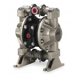 Ingersoll-Rand - 666053-3EB - Polypropylene Santoprene Single Double Diaphragm Pump, 13 gpm, 100 psi