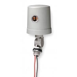 Intermatic - K4236C - Photocontrol, 120 to 277VAC Voltage, 4150 Max. Wattage, 1/2 Male Pipe Thread Mounting