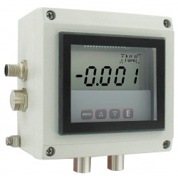 Dwyer Instruments - ISDP-004 - 4 Digit LCD 4 Pin M12 Connector Intrinsically Safe Differential Transmitter; 0 to 1 In. H2O