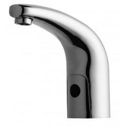 Chicago Faucet - 116.111.AB.1 - Low Lead Cast Brass Bathroom Faucet, Sensor Handle Type, No. of Handles: 0