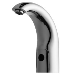 Chicago Faucet - 116.112.AB.1 - Low Lead Cast Brass Bathroom Faucet, Sensor Handle Type, No. of Handles: 0