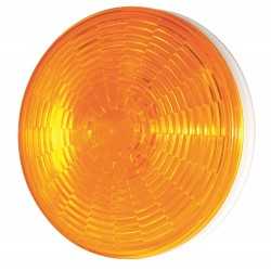 Grote - 54363 - Stop/Tail/Trn Lamp, LED, Dia 4-5/16 In, Ylw