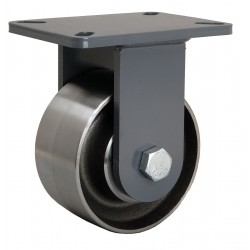 Hamilton Caster - R-CH-63FSB - 6 Heavy-Duty Rigid Plate Caster, 4000 lb. Load Rating