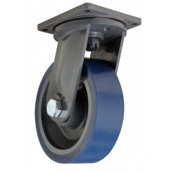 Hamilton Caster - S-MD-124SYT-4SL - 12 Extra Super Duty Swivel Plate Caster, 6000 lb. Load Rating